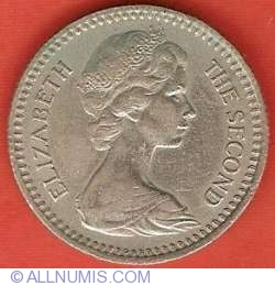 Image #1 of 1 Shilling (10 Cents) 1964