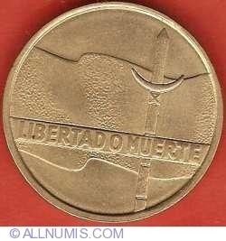Imaginea #1 a 5 Nuevos Pesos 1975 - Aniversarea a 150 de ani de la Miscarea Revolutionara