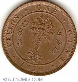 Imaginea #2 a 1 Cent 1910