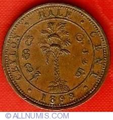 Imaginea #2 a 1/2 Cent 1898