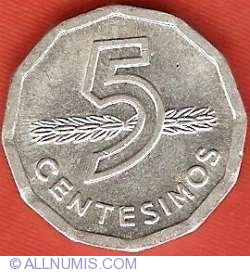 Image #2 of 5 Centesimos 1978