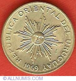 Image #1 of 5 Pesos 1969