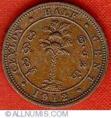 Imaginea #2 a 1/2 Cent 1912