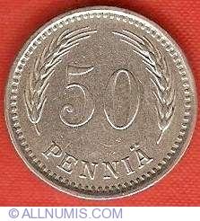 Image #2 of 50 Pennia 1921