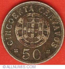 Image #2 of 50 Centavos 1927