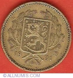 Imaginea #1 a 5 Markkaa 1931