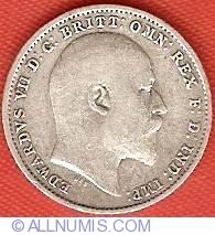 Threepence 1909