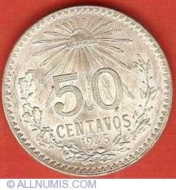 Image #2 of 50 Centavos 1945