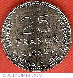 Imaginea #1 a 25 Franci 1982