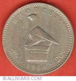 Image #2 of 2 Shillings (20 Cents) 1964