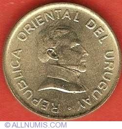 Image #1 of 2 Pesos Uruguayos 1994