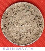 Image #2 of 20 Centimes 1850