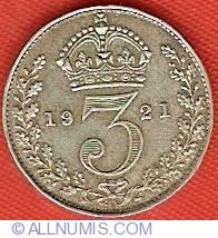 Threepence 1921