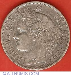 Image #1 of 5 Francs 1870 A