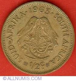Image #1 of 1/2 Cent 1963 Van Riebeeck