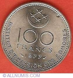 Imaginea #1 a 100 Franci 1977 - FAO
