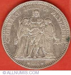 Image #1 of 5 Francs 1875 A