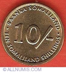 Imaginea #2 a 10 Shillings 2002