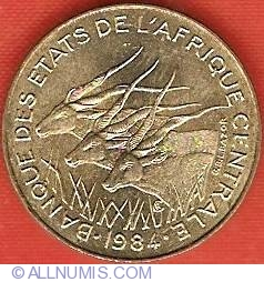 Image #1 of 5 Francs 1984