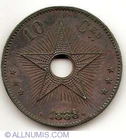 Image #1 of 10 Centimes 1888