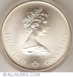 Image #1 of 5 Dollars 1975 - Montreal Olympics - Javelin