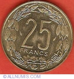 Image #2 of 25 Francs 1985