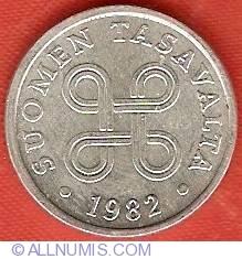 5 Pennia 1982