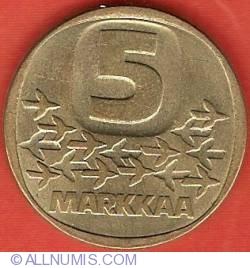 Image #2 of 5 Markkaa 1983 K