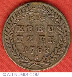 Imaginea #2 a 1 Kreutzer 1783