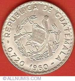 Imaginea #1 a 25 Centavos 1960