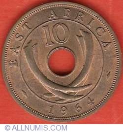 10 Cents 1964