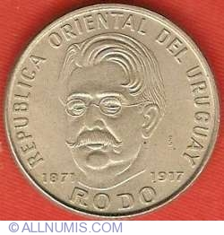 Imaginea #1 a 50 Pesos 1971 - Centenar - Nasterea lui Rodo