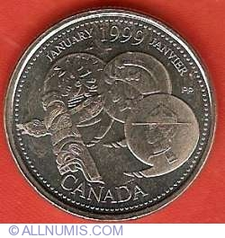 Image #2 of 25 Cents 1999 - January