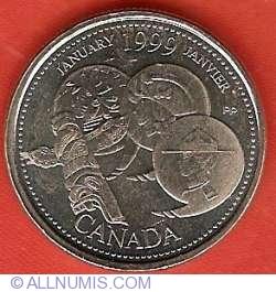 25 Centi 1999- Ianuarie