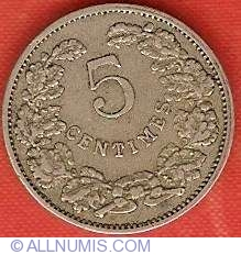 Image #2 of 5 Centimes 1908