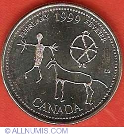 Image #2 of 25 Cents 1999 - February