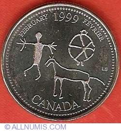 25 Cents 1999 - February