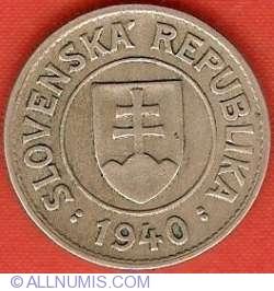 Image #1 of 1 Koruna 1940