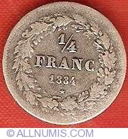 Imaginea #2 a 1/4 Franc 1834