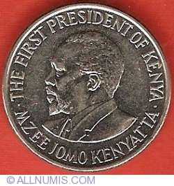 Image #2 of 50 Cents 2005 - Mzee Jomo Kenyatta - Steel core