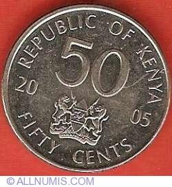 Imaginea #1 a 50 Centi 2005 - Mzee Jomo Kenyatta - Miez de otel