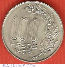 Image #2 of 100 Pesos 1973