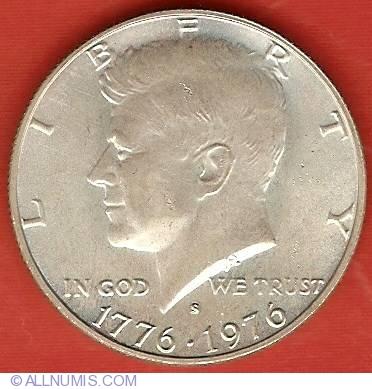 Bicentennial Half Dollar 1976 S Half Dollar Kennedy