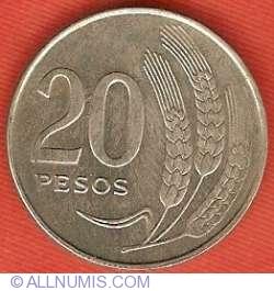 Image #2 of 20 Pesos 1970