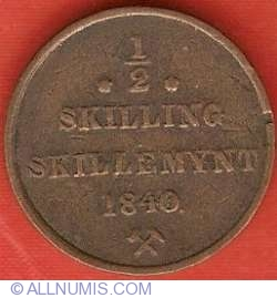 Imaginea #2 a 1/2 Skilling 1840