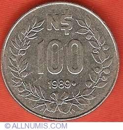 100 Nuevos Pesos 1989