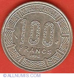 Image #2 of 100 Francs 1996
