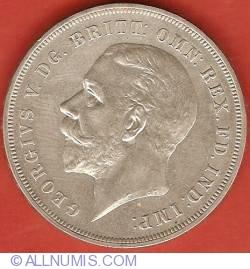 Image #2 of 1 Crown 1935 - Jubileul de argint - Litere pe margine