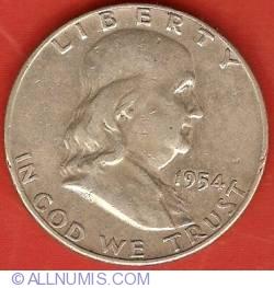 Image #2 of Half dollar 1954 D