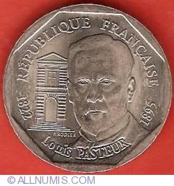 Image #2 of 2 Francs 1995 - Louis Pasteur